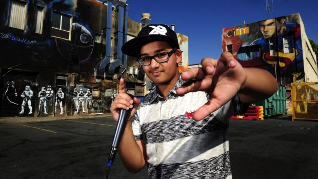 Canberra beatboxer Satvik 'Renagzy' Sharma,12, will perform at Saturday's Multicultural Festival.