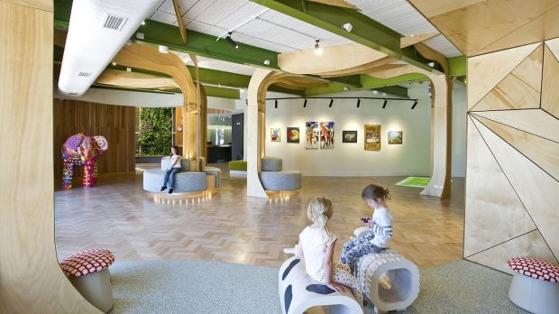 Smith + Tracey Architects designed Wimmera Uniting Care's sensory gallery.