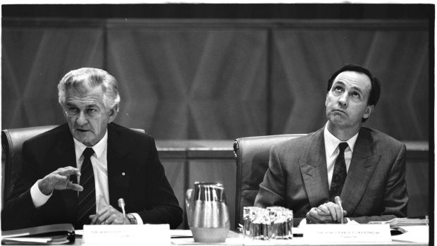 Bonds are giving investors a flashback to 1991, when Bob Hawke and his Treasurer Paul Keating battled Australia's last ...