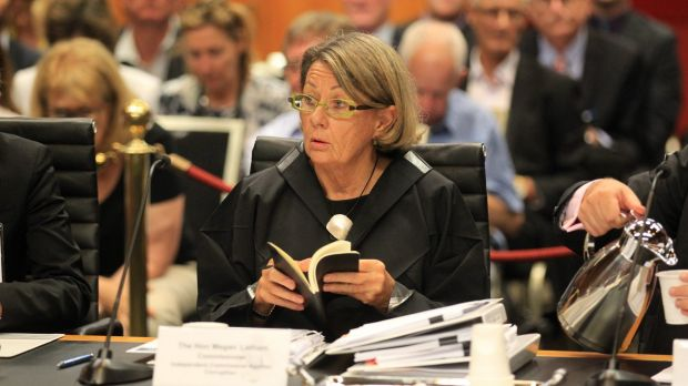ICAC Commissioner Megan Latham is presiding over the inquiry into allegations of fraud at Botany Bay City Council.