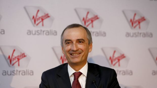 Virgin chief executive John Borghetti said the airline had nearly met its target of 30 per cent of domestic revenue from ...
