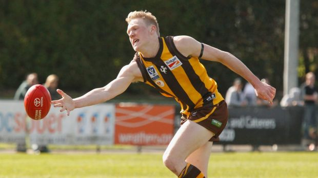 James Sicily has been impressive on the training track, in Jarryd Roughead's absence.