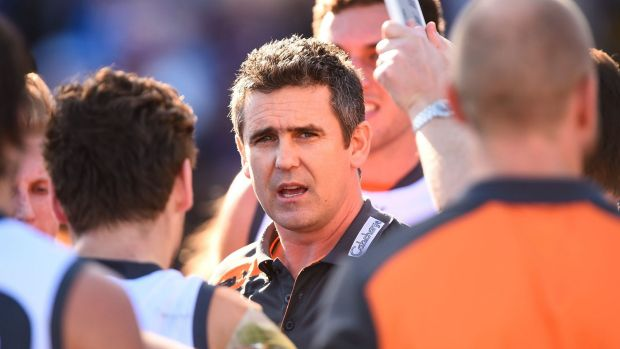 New deal: Giants coach Leon Cameron.