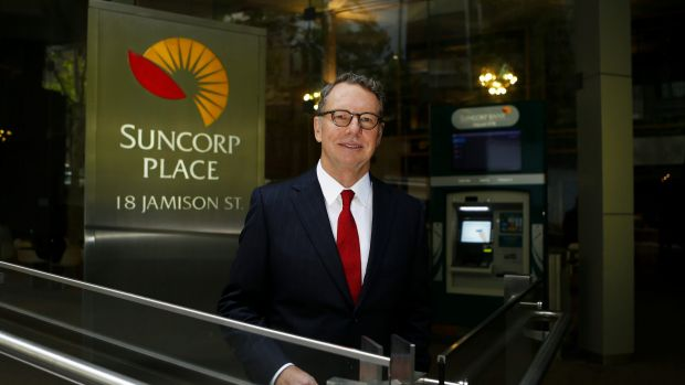 "Suncorp Group chief executive Michael Cameron says the half-year result is ""well short of what this group can deliver""."