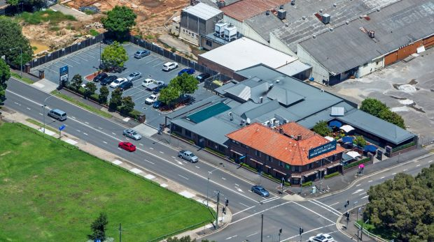 The Albion Hotel land at Parramatta is on the market through Ray White Hotels and Khoury & Partners.