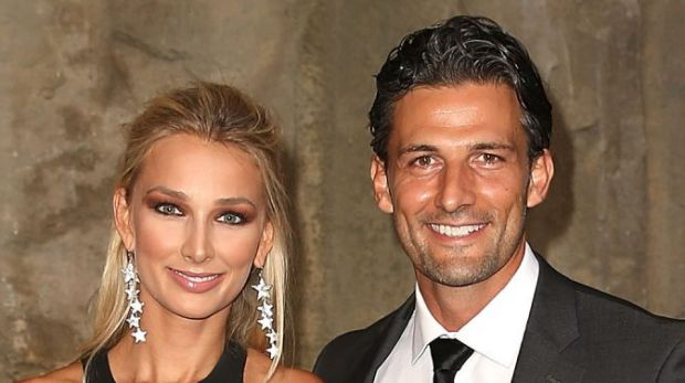 """Say it ain't so! Reports suggest today that Tim Robards and Anna Heinrich are """"living primarily apart""""."""