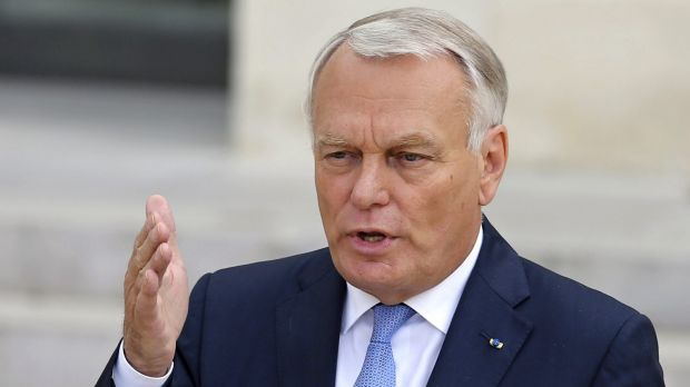 Former French prime minister Jean-Marc Ayrault.
