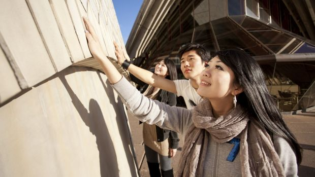 China is now the biggest international market for tours of the Sydney Opera House.