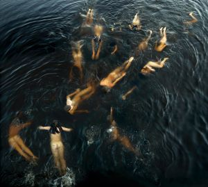 <i>Shoaling</i>, by Tamara Dean, one of the finalist artworks in the 64th Blake Prize.