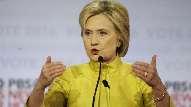 Hillary Clinton invoked her role as secretary of state in the Obama administration.