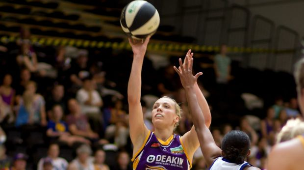 Offensive burden: Maddie Garrick will have to get through a big workload for the Boomers on Saturday night.