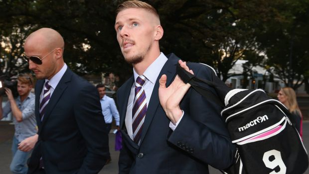 Second time luckier:  Andy Keogh is back at the Perth Glory.