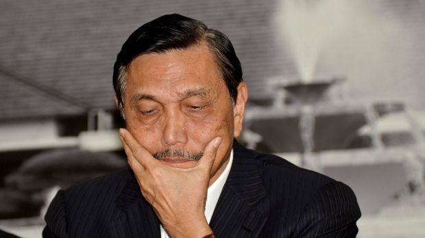 Indonesia's Coordinating Minister for Political, Legal and Security Affairs, Luhut Panjaitan.