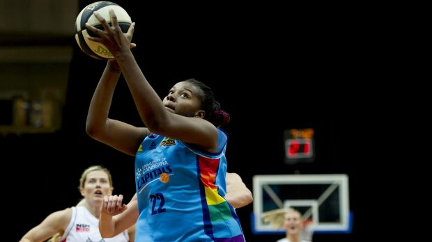 DeNesha Stallworth will be available for Canberra's clash with South-East Qld on Sunday after she was forced to sit out ...