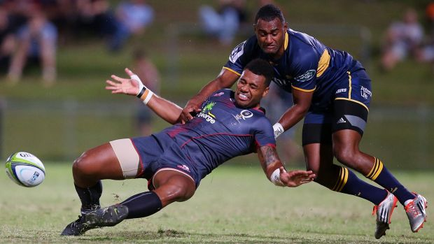 Tevita Kuridrani wants to be a more vocal leader at the Brumbies this year.
