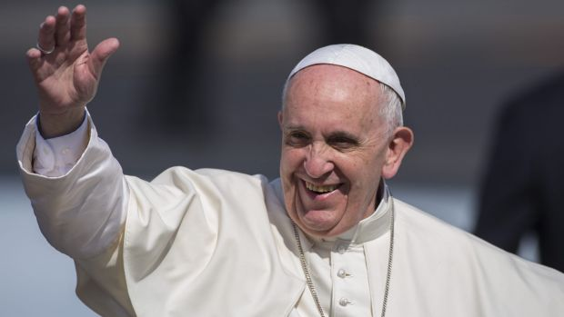 "Pope Francis: ""He has the authority, he has shown he has the courage, so now is the time to act."""