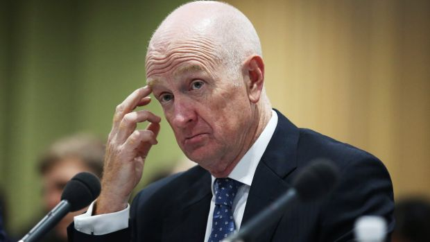 The inflation data is a potential budget day headache for RBA governor Glenn Stevens.