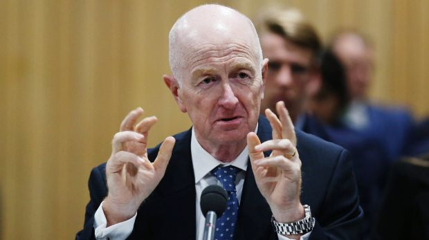 "RBA governor Glenn Stevens said Australia's economy was ""adjusting quite well"" to lower commodity prices and had more ..."