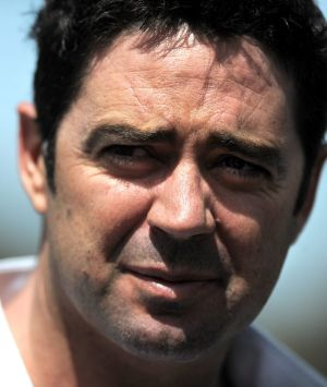 Garry Lyon: Back at work but admits he is not over his depression and is looking for warning signs.