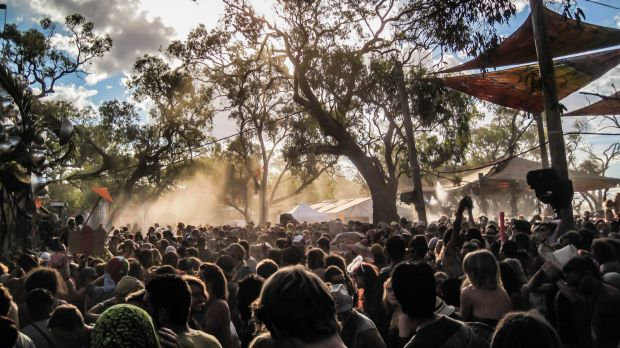 Maitreya Festival attracts up to 10,000 punters to the Buloke Shire for a weekend of electronic music and alternative ...