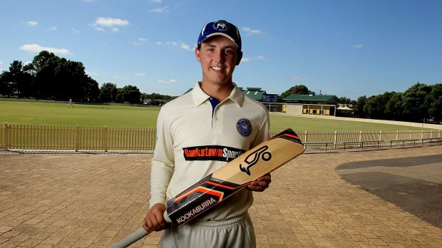 Talented: Thomas Sowden can bat anywhere in the top six, plays off either foot and always plays with great intent, ...