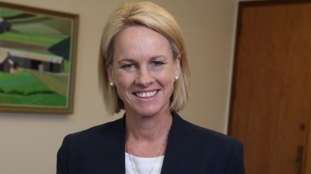 The recently appointed Deputy Leader of the Nationals Senator Fiona Nash, now promoted to a cabinet role.