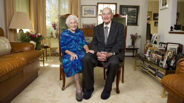 George and Iris Barlin are turning 100 in quick succession and will celebrate the occasion with family at a party on Sunday.