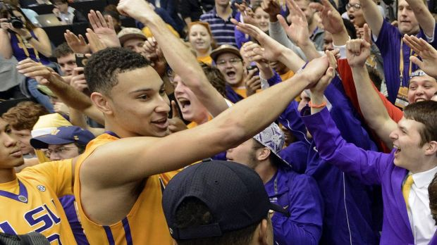 Popular but is he a franchise player? LSU forward Ben Simmons.