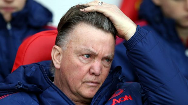 Crunch time: Manchester United manager Louis Van Gaal.
