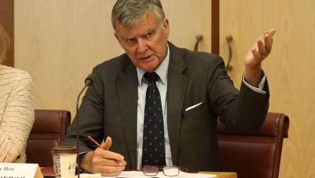 Set to retire: Outspoken NSW senator Bill Heffernan.