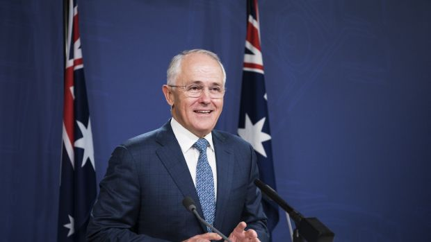 Prime Minister Malcolm Turnbull in Sydney on Saturday.
