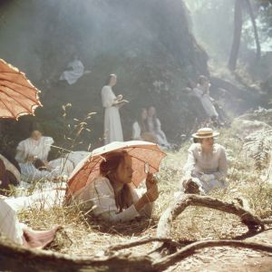 """A scene from the film """"Picnic at Hanging Rock""""."""