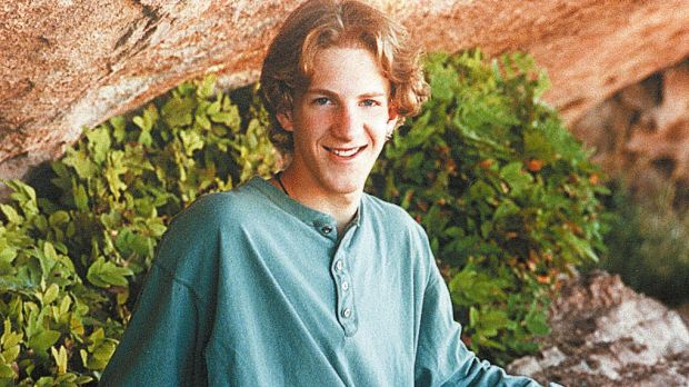 Dylan Klebold, one of the two students who shot and killed 12 classmates and a teacher before killing themselves at ...