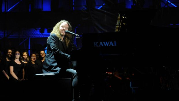 Tim Minchin led a big, bold-hearted line-up at <i>Home</i>, a free outdoor concert at Perth International Arts Festival.