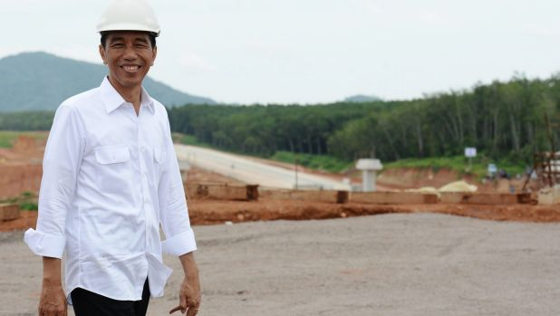 Joko Widodo, Indonesia's president, has the benefit of working to clear plans.