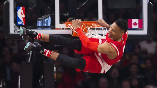 Hitting the road?: Russell Westbrook and the NBA All Stars may play their annuall classic outside of North America.