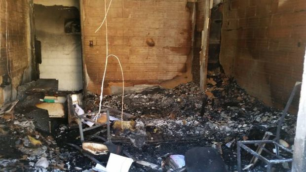 The Turner family lost everything in the fire.