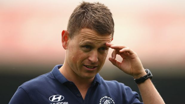 The message the Blues have been sending is they want their players to be educated under new coach Brendon Bolton.
