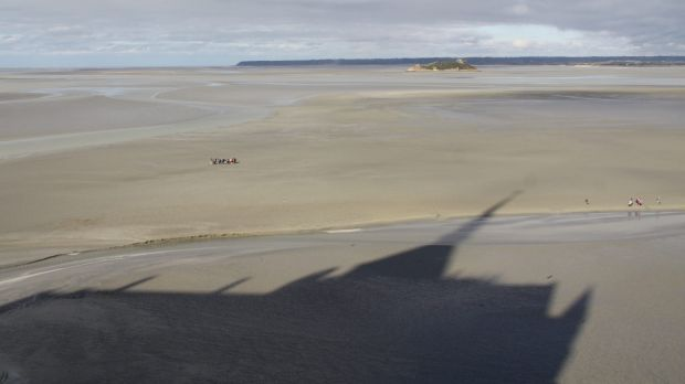 Mossbauerite in Mont Saint Michel Bay, France. The valuable mineral could be used for water purification.