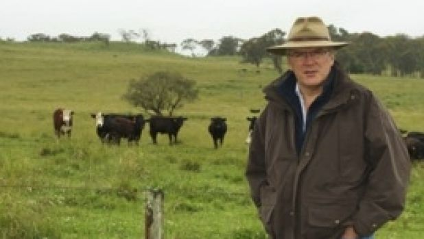 Alasdair Macleod is developing software to manage grass-fed cattle.