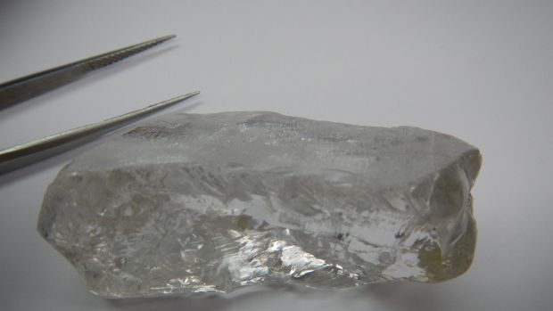 The 404 carat diamond was found in Angola by Australian-listed company Lucapa Diamond.