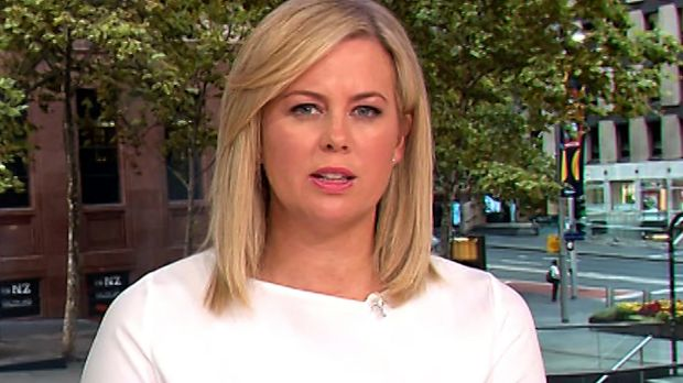 Samantha Armytage said she had to 'Google' Haussegger to find out who she was.