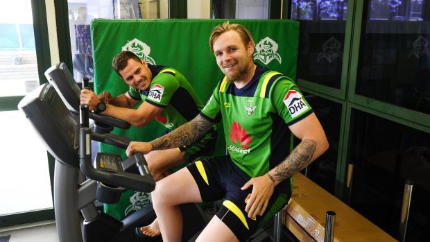 Raiders halves Aidan Sezer and Blake Austin won't play together until at least round one.