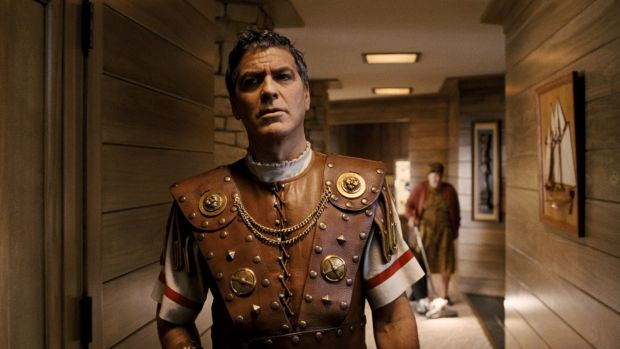 George Clooney plays actor Baird Whitlock, who gets kidnapped in Hail, Caesar!.