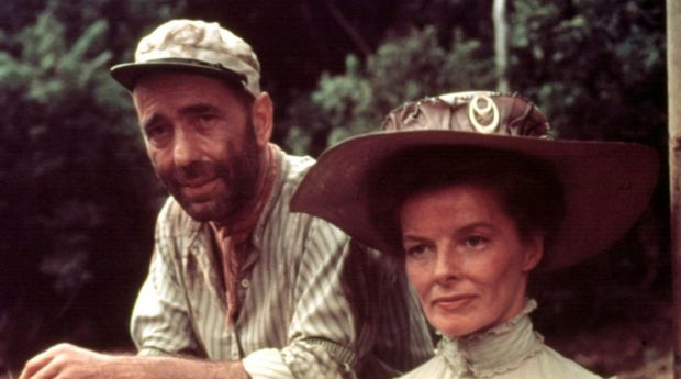 Humphrey Bogart and Katharine Hepburn both had distinctive voices.