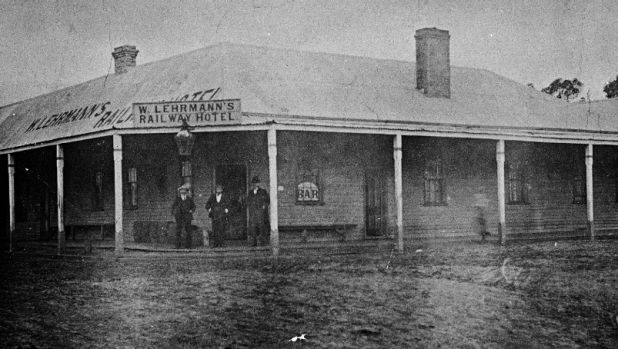 The Railway Hotel at Boolarra, 1905.