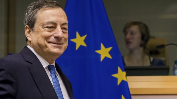 """""""Rates will stay low, very low, for a long period of time and well past the horizon of our purchases."""": Mario Draghi"""