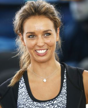 Sally Fitzgibbons at the launch of her foundation in December 2015.