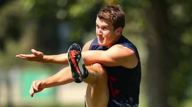 Jack Trengove is close to a return to full training.