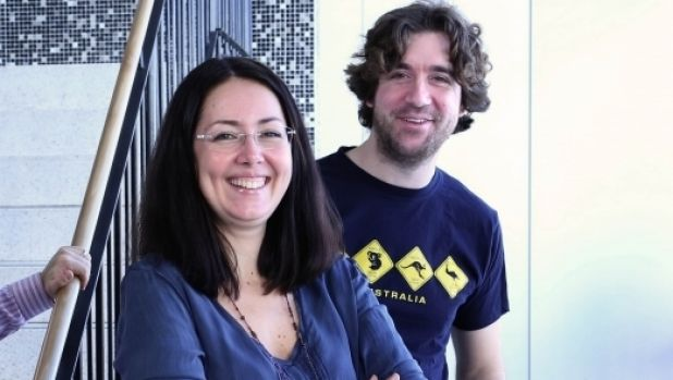 Fun pays off: Isabella Dobrescu and Alberto Motta, from UNSW,  have made the world's first video game based on ...